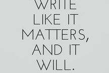 Writer's life - Tips and inspiration for people who love to write / Writing, my first great love, is sometimes really hard. This board shares writing tips, tricks as well as inspiration for writing.