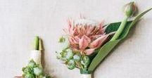 Exotic botanics wedding