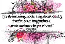 inspiration // 2013 / 2013 Inspiration and goals
