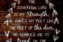 Scripture, Quotes, & Songs