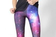 Women Galaxy Leggings / Get the Brand New Fashionable #Galaxy #Leggings. Universe at Your Feet Available in Countless Colors at the Cheapest Rate from just $25 and Free Shipping.
