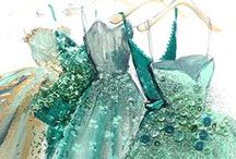 *~Tiffany Blue, Teal & Turquoise~* / by *~Lori~*