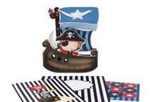 ιδέες για παιδικό πάρτι - πειρατές! / Πάρτι με θέμα τους πειρατές!