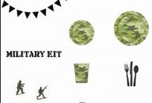 ιδέες για παιδικό πάρτυ - military / Διοργανώστε ένα στρατιωτικό πάρτυ!