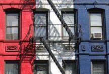Rood - Wit - Blauw / Amerikaanse trend maar zeker ook toepasbaar in ons eigen land!