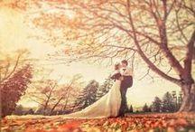 Herfst bruiloft / Pas je bruiloft thema aan op het seizoen, leuke inspiraties voor een herfst bruiloft!