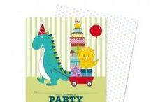 ιδέες για παιδικό πάρτι - Μικρός Δεινόσαυρος / Είδη πάρτι με θέμα τον δεινόσαυρο