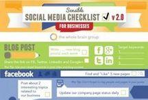 Social Media Marketing / Inspiração para gestão de páginas de empresas nas redes sociais.   #inboundware