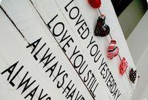 Valentijn  / Een bruiloft draait om liefde dus Valentijn en hartjes passen er zeker bij!