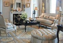 Elegant Rooms / Rooms that make you feel welcomed even though they may be formal.