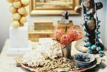 Vignettes / Ways to create vignettes for your home adding warmth and a personal touch.