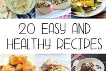 Healthy Recipes EASY / Being healthy all the time isn't always easy, especially when it comes to food. Not everybody can cook well, but fortunately, you don't have to bother with learning. Here you can find some simple recipes, which are really easy for everyone to make. Now you can't find any more excuse for not eating healthy!