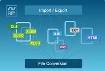 Products / Best Excel libraries to import / export Excel files