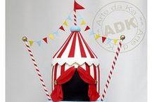 ιδέες για παιδικό πάρτι - τσίρκο / Όμορφες ιδέες για παιδικό πάρτι με θέμα το τσίρκο!