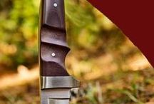 """Knives / The sharper the better when it comes to Knives.  Whether you get them custom made, or you buy one, there are so many different styles to choose from and I guarantee that there is a """"perfect"""" knife out there for you!"""