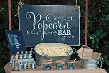 Concession Party Equipment / Including such machines as popcorn, cotton candy, and snow cone. Anything that can make you feel like a kid again at your event!