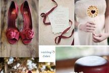 Red Theme / Red can dramatically change any venue by adding romance and warmth.