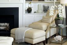 Neutral Decorating / Rooms and accessories that are neutral and reflect a calming feeling.