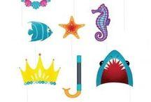 ιδέες για παιδικό πάρτι - θάλασσα / Διοργανώστε ένα καλοκαιρινό πάρτι σε έντονα & χαρούμενα χρώματα!