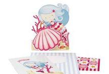 ιδέες για παιδικό πάρτι - γοργόνα / Διοργανώστε ένα πολύ γλυκό πάρτι με θέμα τη γοργόνα σε παλ ροζ & σιέλ αποχρώσεις!