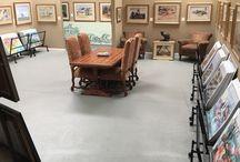 California Watercolor Gallery / California Watercolor gallery in Fallbrook, CA