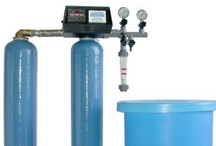 Water Softeners (water purification) / The water softeners are used to remove the hardness from the water. The hardness of water is determined by the amount of Calcium and Magnesium dissolved in water. The more Calcium and magnesium the water contains the harder it is. The total water hardness is divided into temporary hardness and permanent hardness.
