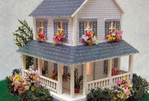 1/144th Emma's Cottage / 1/144th Scale Dollhouse Miniatures