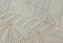 Quilting free motion designs and tutorials