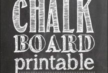 ...Chalkboard...