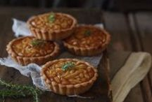 PIE , tarlets & quiche