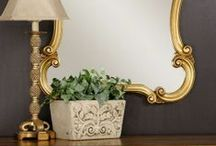 Elegantly Ornate Mirrors