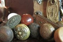 Antique Hardware / Door sets, Pocket Door Pulls, Handles and more.
