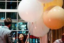 Balloon theme for weddings