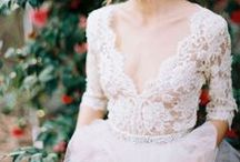 beautiful lace / Beautiful and unique we just can't get enough of lace. Soft, pretty lace wedding details. We are universally in love with lace.