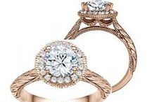 True Romance / Distinctive engagement ring designs crafted with clean, classic lines for exceptional beauty and brilliance. The expertise and collaboration of their designers and jewellers has resulted in graceful vintage inspired engagement rings, romantic rose gold engagement rings, classic diamond wedding bands and delicate mill grain finishes.