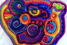 Freeform Crochet by Daniela