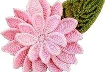 FLOR FLOWERS crochè