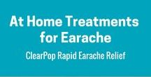 Home Remedies for Earache / Home Earache Remedies you could try OR you can try ClearPop Rapid Earache Relief.  www.clearpop.com