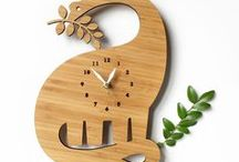 I make these / Decoylab Modern Wall Clocks, Wooden Clocks, Cuckoo Clocks, Coasters, Wall Calendars and Home Accessories.