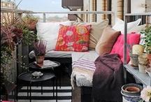 Parveke/ Balcony / Parvekkeen suunnittelua/ Balcony decor