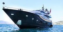 Sunseeker Yachts / Sunseeker is a British luxury motor yacht manufacturer with its headquarters and main assembly facility is in Poole Harbour in Dorset, founded in 1969.