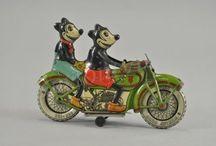 Tin toy's Antique and vintage / Blikken speelgoed , Tin Toy's.