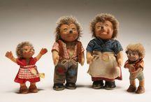 old Toy's  1950-1960  / Oud Speelgoed uit m'n kinderjaren en we speelde veel buiten.