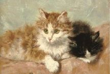 Henriëtte Ronner-Knip. Cats / Dutch painteres 1821- 1909