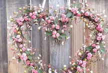 Romantic Pink. Romantisch Roze. / Flowers and lace,  Bloemen en kant.