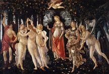 Italian and Spanisch Painters. / Beautiful painting's  Italiaanse en Spaanse schilders.