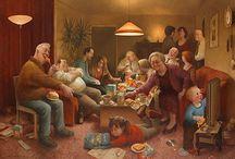 Marius van Dokkum / Dutch illustrator.