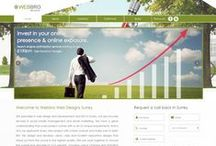 Webbro's Web Designs / Custom / bespoke websites designed by Webbro - http://www.webbro.co.uk/portfolio/