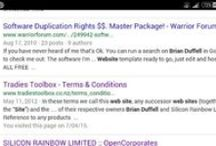 """brian duffell / """"run a search on brian duffell"""" thanks brian we have, just read pinterest :)"""