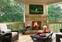 Dream House: Outdoors / Natural & man-made: Patios & Porches / by Diane Depatie